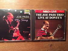 Joe Pass [2 CD ALBUM] Trio Live at Donte's + My Song
