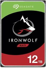 "Seagate IronWolf NAS 12TB 3.5"" Internal HDD (ST12000VN0008)"