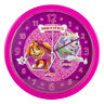 """OFFICIAL NEW 10"""" PINK PAW PATROL SKYE EVEREST CHILDRENS BEDROOM WALL CLOCK"""