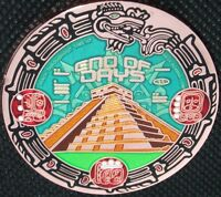MAYAN END OF DAYS GEOCOIN - XLE - COPPER - NEW - U/T