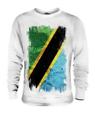 Tanzania Grunge Bandera Unisex Suéter Tanzania Camisa Camiseta de Fútbol Regalo