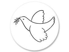 Pin Button Badge Ø25mm Colombe de la Paix  The Dove of Peace