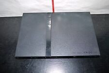Sony PlayStation 2 Slim Charcoal Black Console SCPH-75004 UNTESTED FOR PARTS