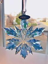Disney Swarovski Frozen Holiday Snowflake Ornament