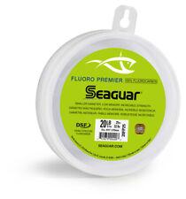 Seaguar Fluorocarbon Premier Fishing Line Leader Material 40lb 50yd 40FP50