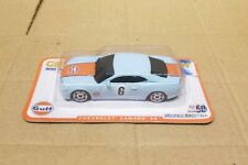 "Greenlight collectibles Chevrolet Camaro ss ""Gulf Racing"" 1/64 , mint on card"
