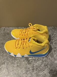 Nike Air Kyrie Irving 4 KIX Cereal Pack GS. Yellow Size 5Y (BV0425-700)