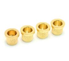 "(4) Gotoh Gold 3/8"" Bass String Anchor Body Ferrules AP-0287-002"