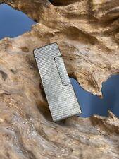 ancien briquet  DUNHILL metal argenté Gaz Pour Pièce Ou Restauration
