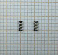 2Stk 0,6mmx 6 mmx305mm   aus Manganstahl Schwarz Druckfeder