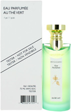 Au The Vert By Bvlgari For Women EDC Perfume Spray 2.5oz Tester New