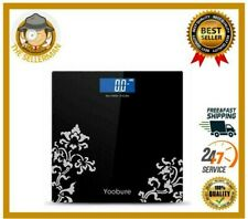Digital Body Weight Scale Step-On Technology High Precision Bathroom Scale LCD