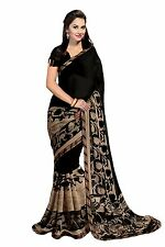Bollywood Saree Indian Ethnic Pakistani Designer Sari Wedding Partywear Saree