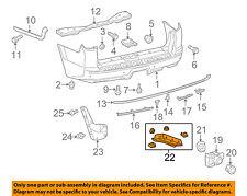 TOYOTA OEM 4Runner Rear Bumper-Lower Diffuser Deflector Trim Left 5372435030
