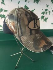 Remington Hunting Shooting Camo Low Black Mesh Back Baseball Cap Realtree