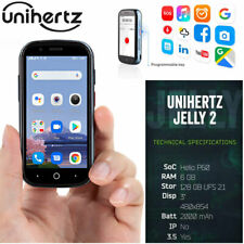 4G Unihertz Titan Jelly 2 Smallest Smartphone Android NFC Cell Phone 6GB+128GB