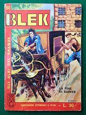 Gli albi del grande BLEK n 50 , Ed Dardo (1964) fumetto a colori