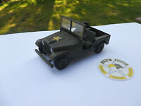 VEHICULE MILITAIRE TEKNO DANEMARK JEEP FORD US (2) OCCASION