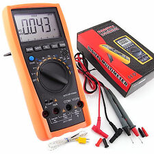 VC99 Multímetro Digital Auto Manual Range AC DC Resistencia Capacitancia Tester