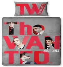 The Wanted Forever Official Single Panel Duvet Cover Bed Set