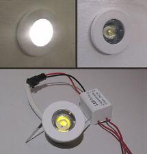 SEGNA PASSO TONDO - MINI SPOT LED - BIANCO per uso interno da 1 W