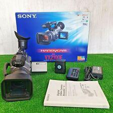 Sony DCR-VX2100E 3CCD Camera-BUNDLE-boxed-VG