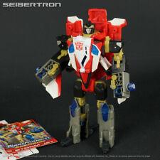 STORM JET Transformers Energon Combat complete Superion Powerlinx Combiner 2004