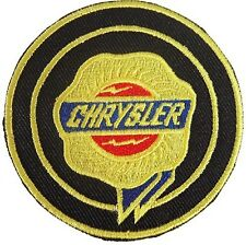New Chrysler Logo embroidered iron on patch. 2.6 inch (i23)