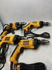 "FOR PARTS NOT WORKING DEWALT DW511 1/2"" (13mm) VSR Hammer Drill LOT OF 4 (M)"