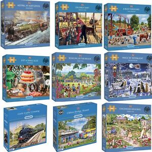 Gibsons 500 Piece Jigsaw Puzzles Brand New | Large Selection | 18 Designs