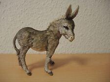 Kaiser Porzellan Figur Esel, koloriert, TOPP, selten