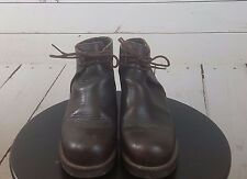 KICKERS BROWN Boots Dark Size 6 (36 Euro)