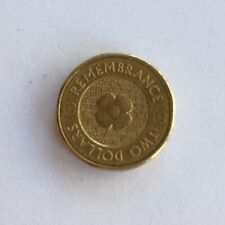 Australian $2 - 2012 Remembrance Day Commemorative Coin