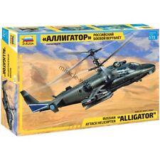 Zvezda 7224 Ka-52 Alligator / Hokum B (Kamov) /russian attack helicopter/ 1/72