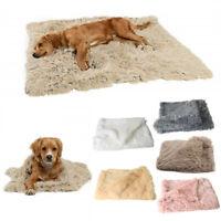 Winter Dog Bed Mat Soft Fleece Pet Cushion House Warm Puppy Cat Sleeping Blanket