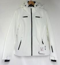Spyder Women's Tresh Snow Ski Winter Jacket White Black Size Ladies 12 NEW
