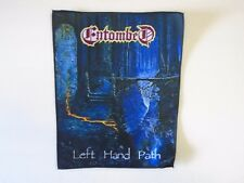 ENTOMBED LEFT HAND PATH SUBLIMATED BACK PATCH
