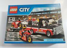 LEGO City Racing Bike Transporter 60084 New, Sealed Hard To Find