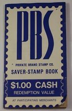 PBS Private Brand Stamp Co. Saver Stamp Book *Half Full* Southfield Michigan