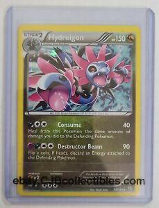 Pokémon HYDREIGON 98/124 Cosmos Holo Rare Dragons Exalted Blister Exclusives