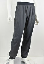 LULULEMON Charcoal & Gray Stripe Contrast Waist Cinch Hem Track Workout Pants XL