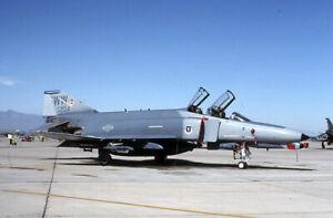 Original aircraft slide USAF F4E 69 204/WW