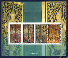 2008 THAILAND GATE GUARDIAN ANGEL STAMP SOUVENIR SHEET PERF MNH (N35)