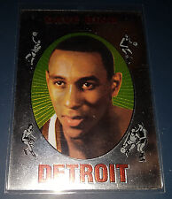Dave Bing 1996-97 Topps Stadium Club FINEST REPRINTS Insert Card