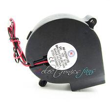#QZO Brushless DC Kühlgebläse Fan Hülselager 7525S 12V 0.18A 75x33mm
