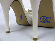 I DO Diamante Rhinestone Wedding Shoe Applique Sticker Something Blue