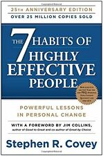 *New Paperback* THE 7 HABITS OF HIGHLY EFFECTIVE PEOPLE by Stephen R. Covey