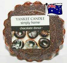 YANKEE CANDLE * Chocolate Donut * Tart Melt FREE Postage for ADDITIONAL TARTS