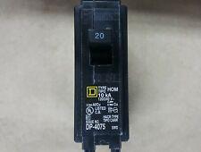 Square D Homeline 20 Amp Single Pole Circuit Breakerhom120 Made In Usa