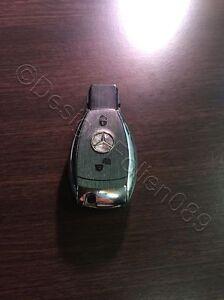 Anthrazi Brush Folie Dekor Schlüssel Mercedes A B C D E G S Klasse AMG 2 Tasten